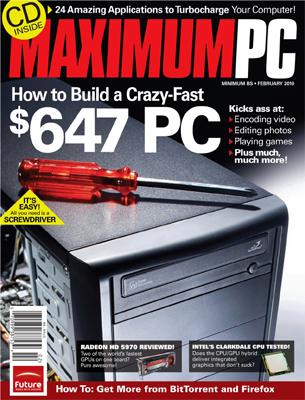 Max PC feb 2010