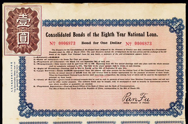 Contoh Surat Obligasi Sertifikat Obligasi Bond Certificate