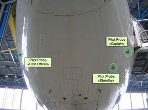 Air France 447 Final Report pitot tubes